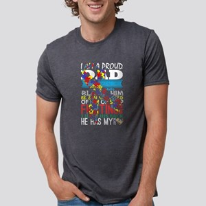 Im A Proud Dad Of Very Special Child Autis T-Shirt