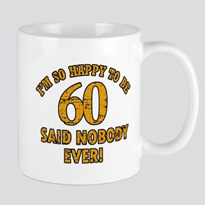 60 birthday design Mugs