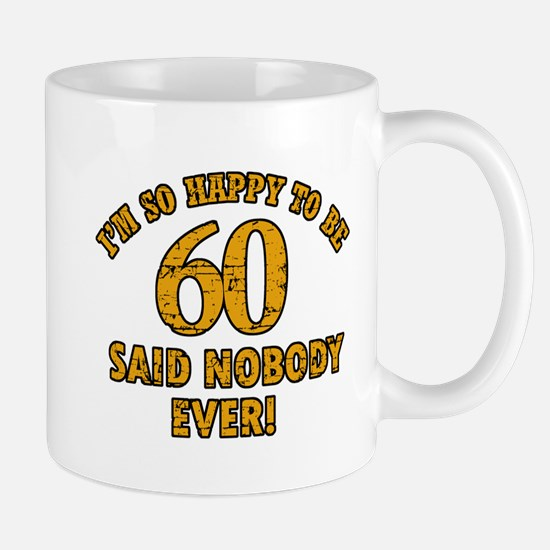60 birthday design Mugs