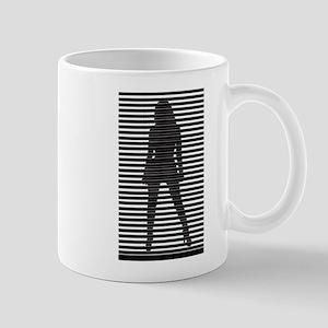 Dominatrix Silhouette Mug