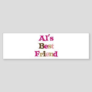 Al's Best Friend Bumper Sticker