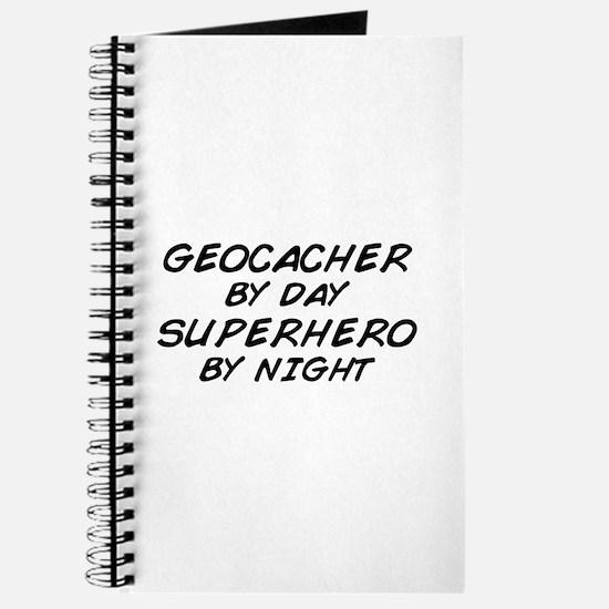 Geocacher Superhero by Night Journal