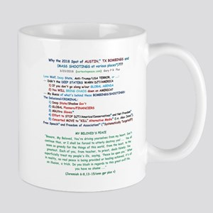 Why Bombings/Shootings? - whte fld Mugs