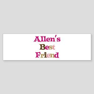 Allen's Best Friend Bumper Sticker