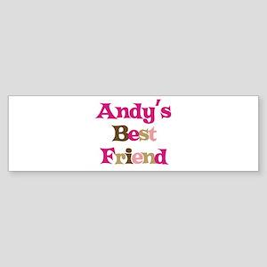 Andy's Best Friend Bumper Sticker