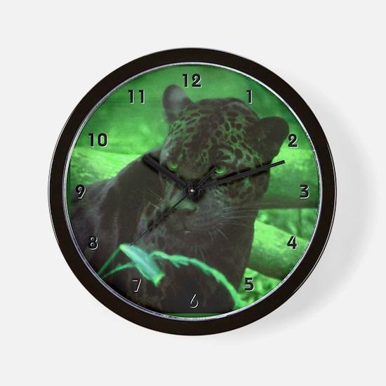 Black Panterh Jaguar Clocks Wall Clock