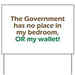 Smaller Government Yard Sign