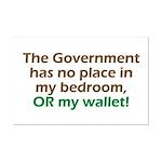 Smaller Government Mini Poster Print