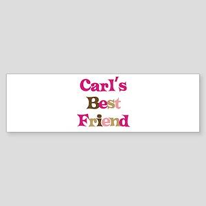 Carl's Best Friend Bumper Sticker