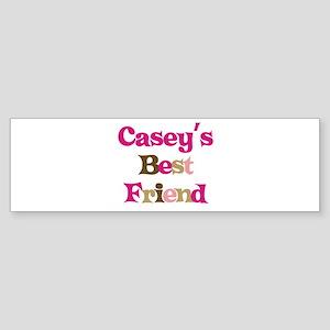 Casey's Best Friend Bumper Sticker