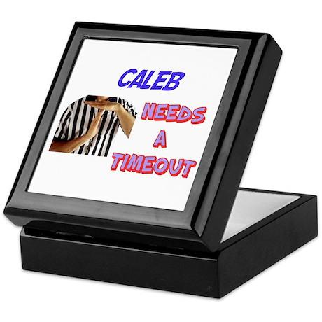 Caleb Needs a Timeout Keepsake Box