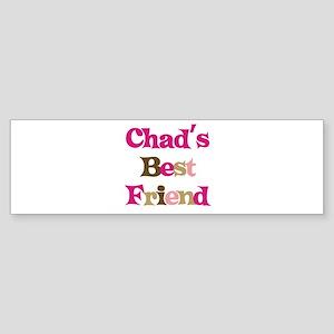 Chad's Best Friend Bumper Sticker
