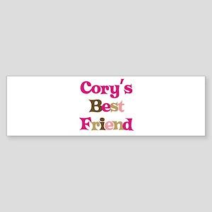 Cory's Best Friend Bumper Sticker