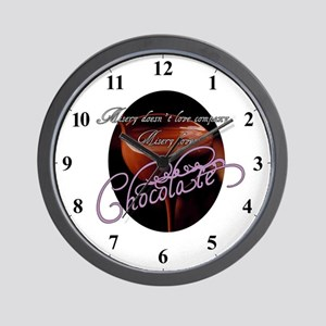 Chocolate Lovers Clocks Wall Clock