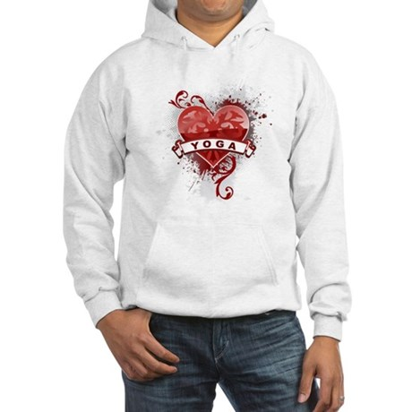 Heart Yoga Hooded Sweatshirt