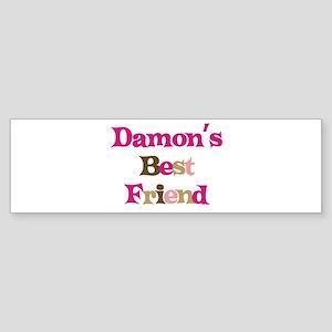 Damon's Best Friend Bumper Sticker