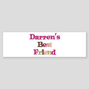 Darren's Best Friend Bumper Sticker