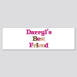 Darryl's Best Friend Bumper Sticker
