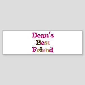 Dean's Best Friend Bumper Sticker