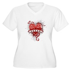 Heart Vegan T-Shirt