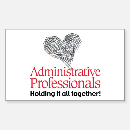 Administrative Professionals- Rectangle Sticker 1
