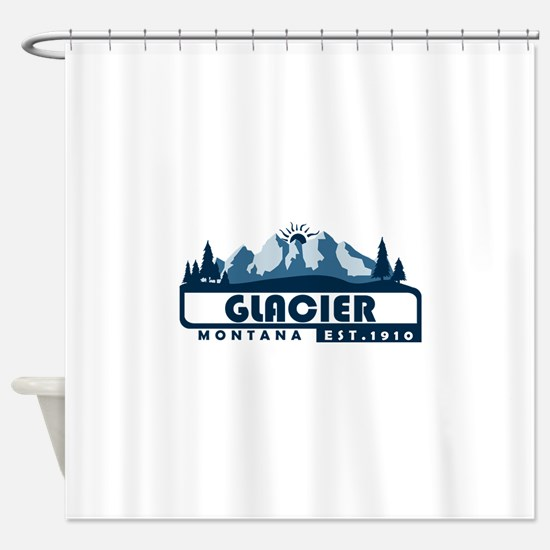 Glacier - Montana Shower Curtain