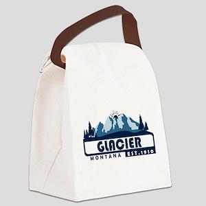 Glacier - Montana Canvas Lunch Bag