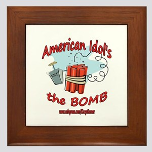 AI THE BOMB Framed Tile