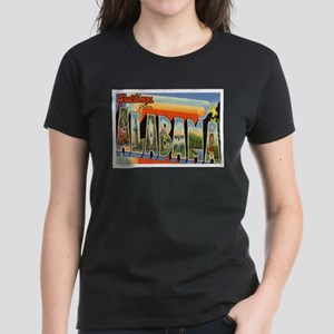 Alabama Postcard Women's Dark T-Shirt