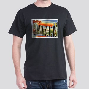 Alabama Postcard Dark T-Shirt