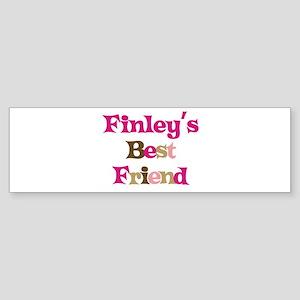 Finley's Best Friend Bumper Sticker