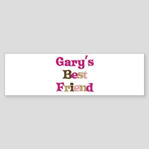 Gary's Best Friend Bumper Sticker
