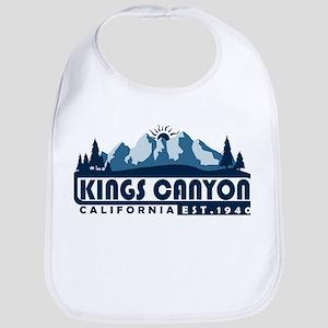 Kings Canyon - California Baby Bib