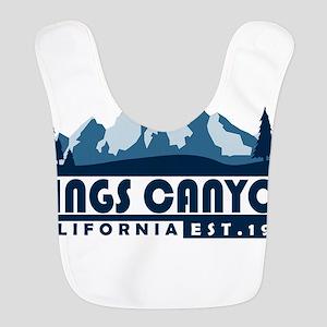 Kings Canyon - California Polyester Baby Bib