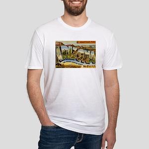 Arizona AZ Postcard Fitted T-Shirt