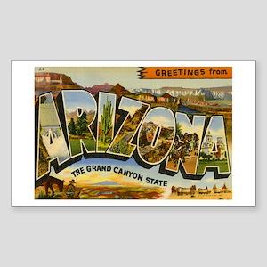 Arizona AZ Postcard Rectangle Sticker