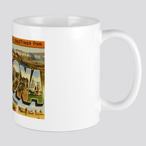 Arizona AZ Postcard Mug