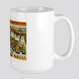 Arizona AZ Postcard Large Mug