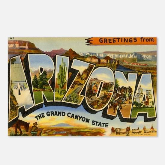 Arizona AZ Postcard Postcards (Package of 8)