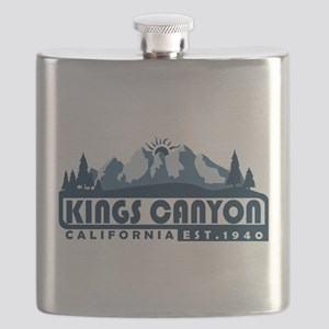 Kings Canyon - California Flask