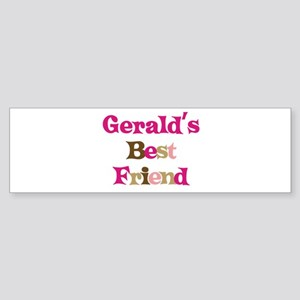 Gerald's Best Friend Bumper Sticker
