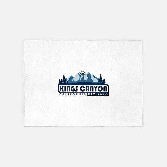 Kings Canyon - California 5'x7'Area Rug