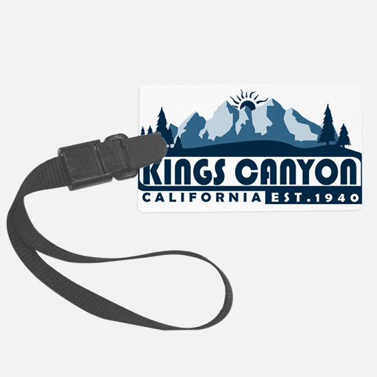 Kings Canyon - California Luggage Tag