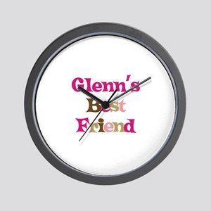 Glenn's Best Friend Wall Clock
