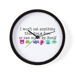 Won't Eat Wall Clock