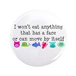 "Won't Eat 3.5"" Button (100 pack)"
