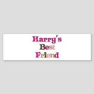 Harry's Best Friend Bumper Sticker