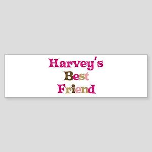 Harvey's Best Friend Bumper Sticker
