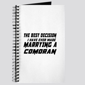 Marrying Comoran Country Journal
