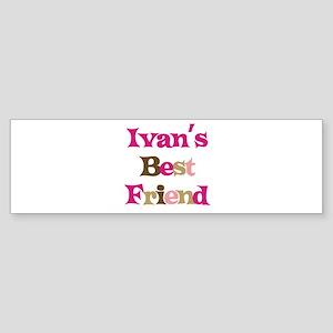 Ivan's Best Friend Bumper Sticker